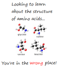 amino acid sturcture, amino acid