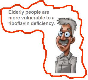 elderly people riboflavin