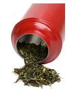 green tea, green tea box, green tea leaves