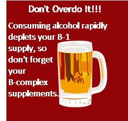 alcohol vitamin b1