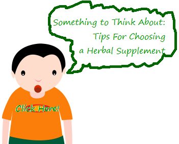 herbal supplement, choose herbal supplement